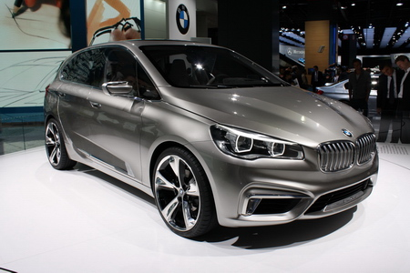 voitures-hybrides BMW Active Tourer